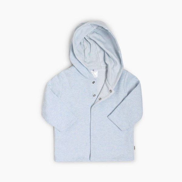 View larger image of Reversible Hoodie - Blue