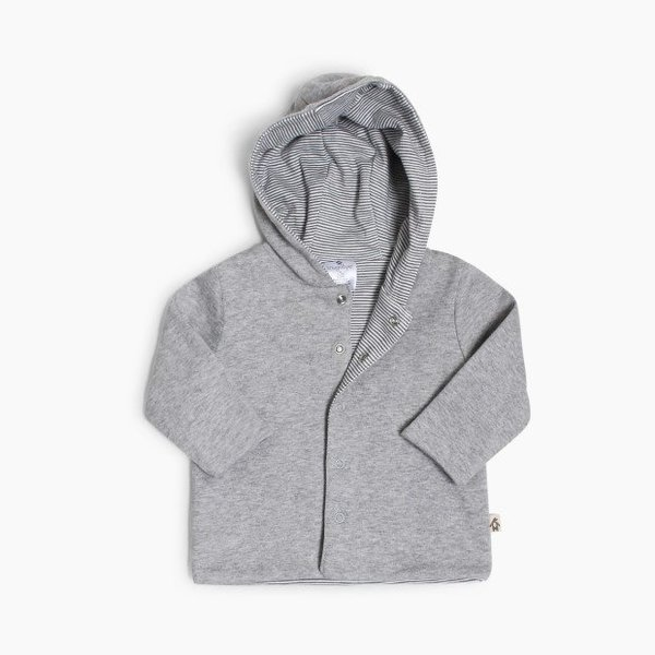 View larger image of Reversible Hoodie - Grey
