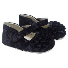 Kate Black Velvet Shoes