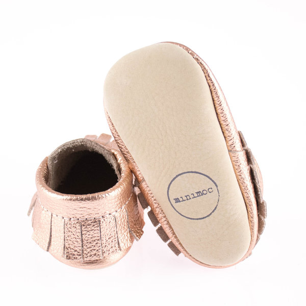 View larger image of Rose Gold Moccasins