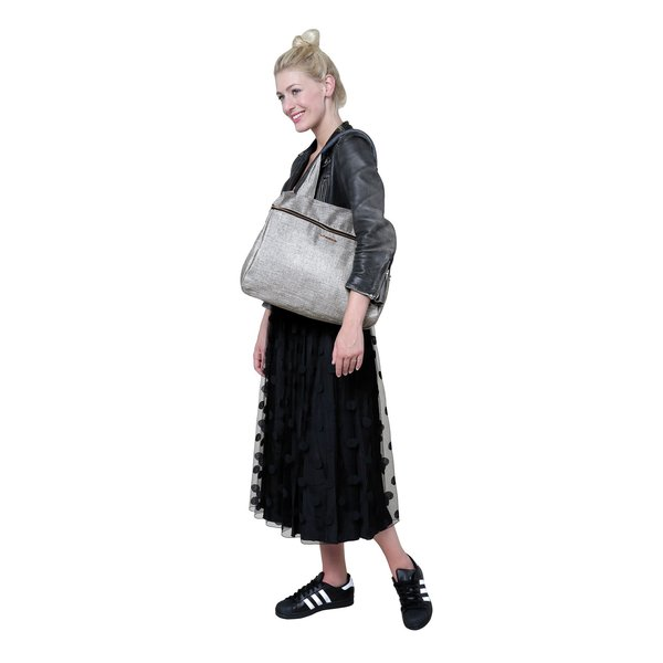 View larger image of Glam Rosie Diaper Bag - Anthracite Glitter