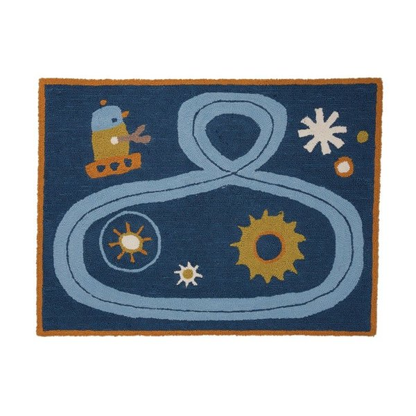 """View larger image of Rug - Robot (30"""" x 40"""")"""