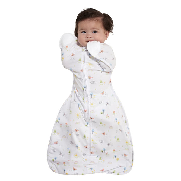 View larger image of SleepSack Self-Soothing Swaddle - Pink Garden - S