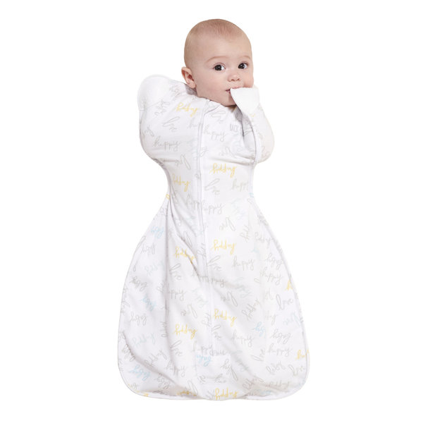 View larger image of SleepSack Self-Soothing Swaddle - Happy Baby Love - S