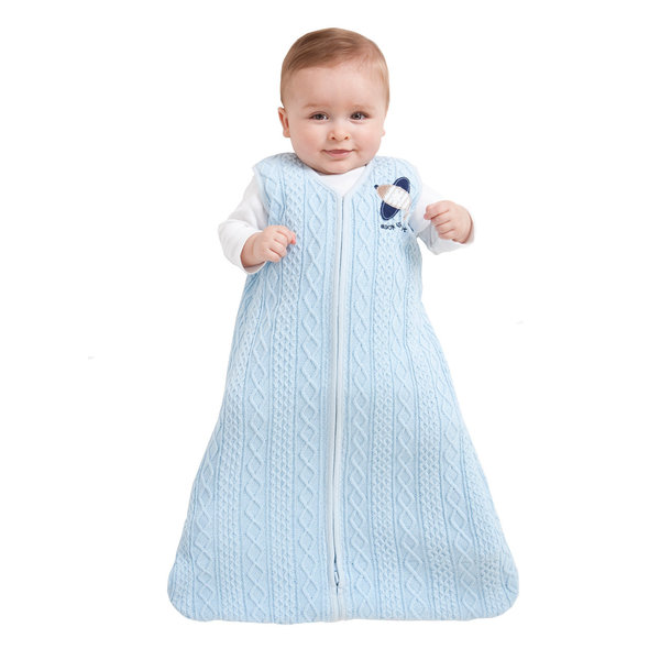 View larger image of S-SleepSack Cable Knit 1.5Tog- Blue
