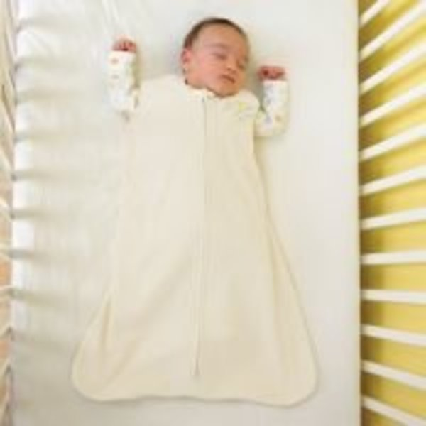 View larger image of SleepSack Fleece 1Tog - Cream - Small