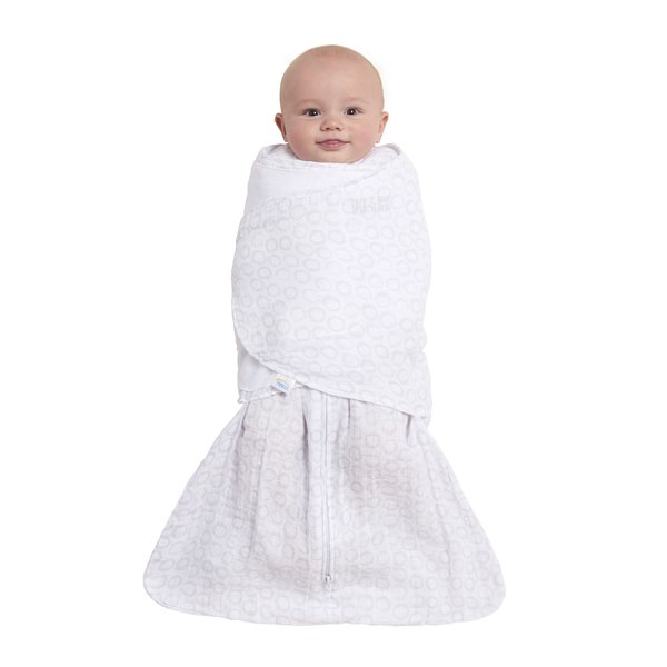 View larger image of SleepSack Swaddle - 1.5T - Grey Circles - S