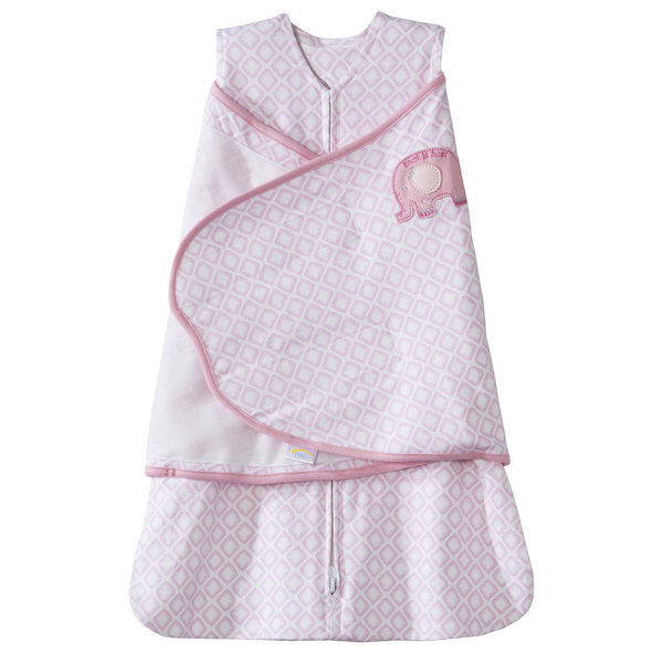 View larger image of Swaddle - Cotton - 1.5Tog - Pink - Small