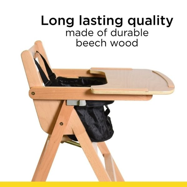 View larger image of Nordik Wooden High Chair