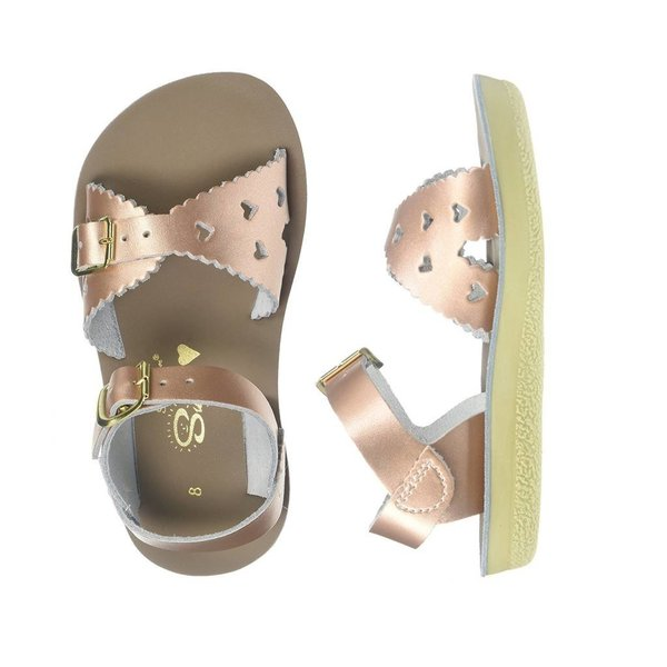 View larger image of Sweetheart Toddler Sandals - Rose Gold