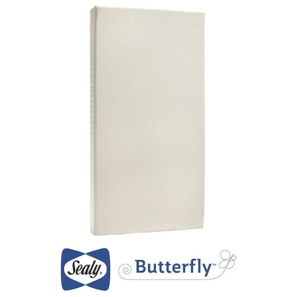 View larger image of Butterfly Cotton Comfort Crib Mattress