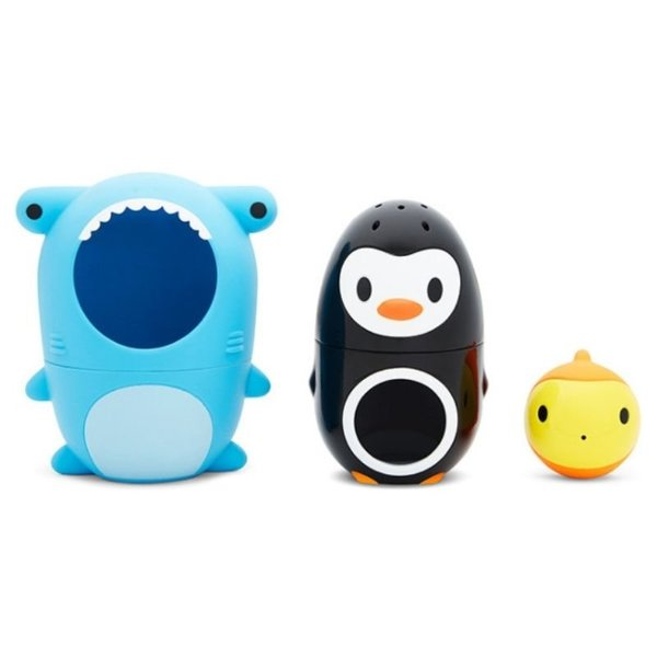 View larger image of Sharky & Pals Nesting Bath Toy