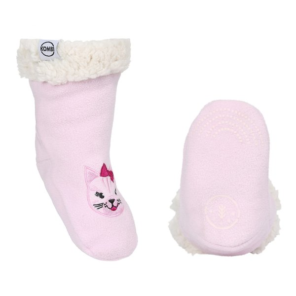View larger image of Sherpa Animal Socks - Kitten