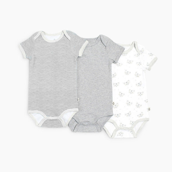 View larger image of 3Pk Short Sleeve Onesies - 18 months