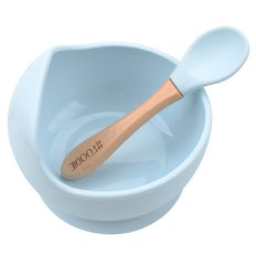 Silicone Bowl + Spoon Set