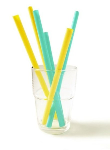 View larger image of Silicone Family of Straws - 6 Pack