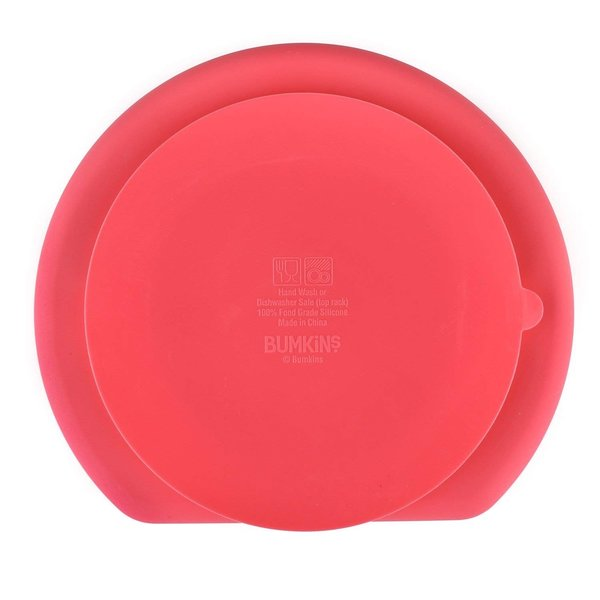 View larger image of Silicone Grip Dish - Red