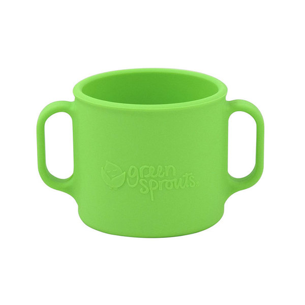 View larger image of Silicone Learning Cup - Green