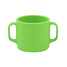 Silicone Learning Cup - Green