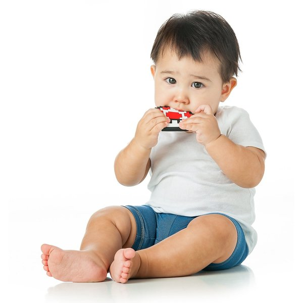 View larger image of Silicone Teether-Super Mario