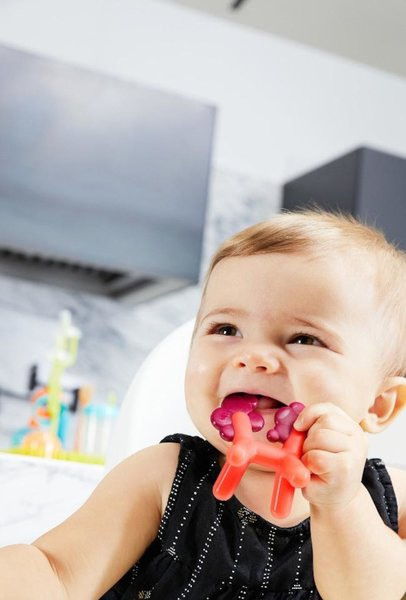 View larger image of Silicone Teether - Unicorn