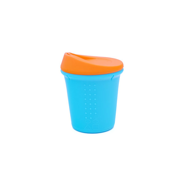 View larger image of Kids To-Go Silicone Sippy Cup - 8oz - Sea/Orange