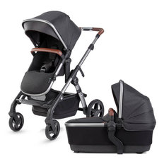 Wave Stroller with Bassinet - Charcoal (2021)