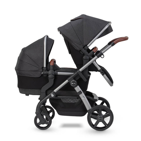 View larger image of Wave Stroller with Bassinet - Charcoal (2021)