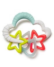 Silver Lining Cloud Starry Rattle
