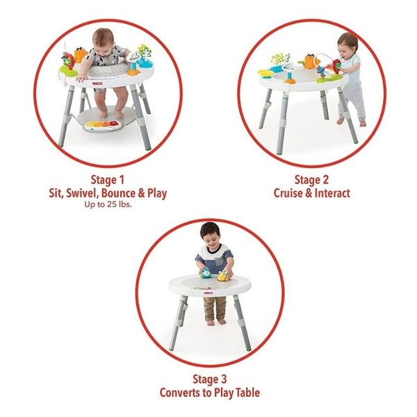 View larger image of Explore & More 3-Stage Activity Center