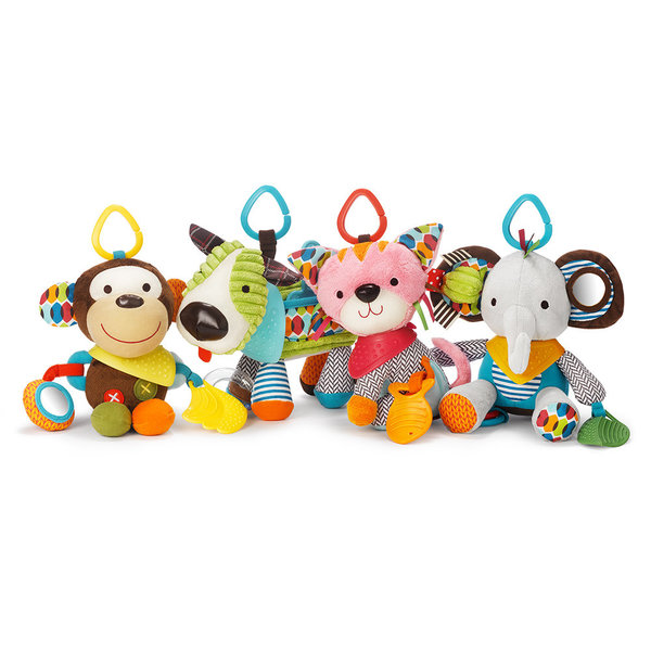 View larger image of Bandana Buddies Activity Toy & Teether