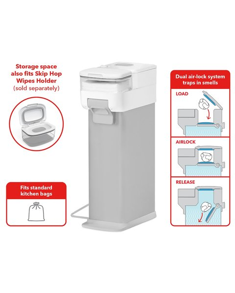 View larger image of Diaper Pail - Nursery Style