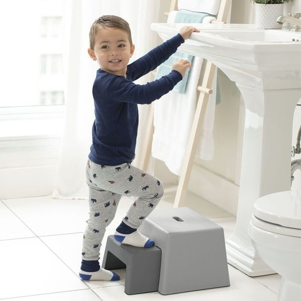 View larger image of Double-Up Step Stool - Grey