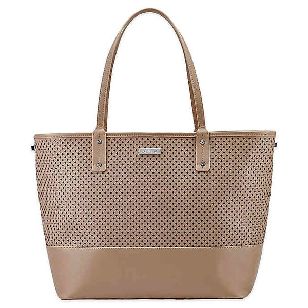 View larger image of Duet 2-IN-1 Diaper Tote Bag - Taupe