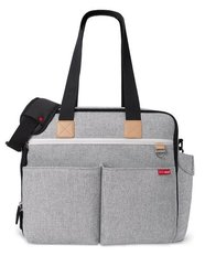 Duo Weekender Diaper Bag - Grey Melange