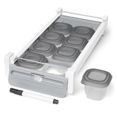 Easy-Store Sliding Tray Set
