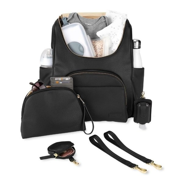 View larger image of Evermore Backpack Set - Black