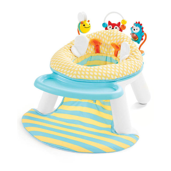 View larger image of Explore & More 2-In-1 Activity Floor Seat