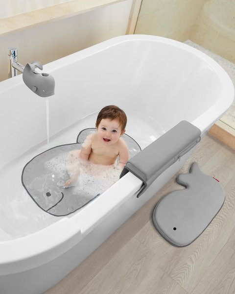 View larger image of Moby Bath Spout Cover - Grey