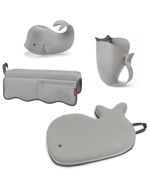 View larger image of Moby Bathtime Essentials Kit - Grey