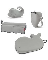 Moby Bathtime Essentials Kit - Grey