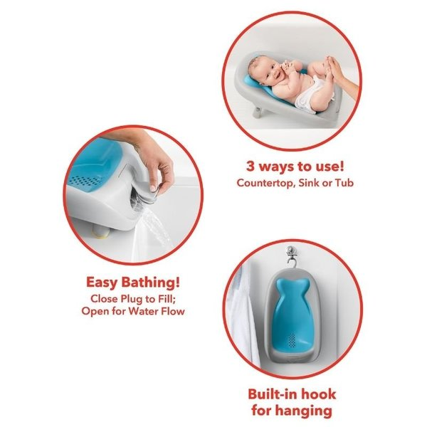 View larger image of Moby Recline & Rinse Bather