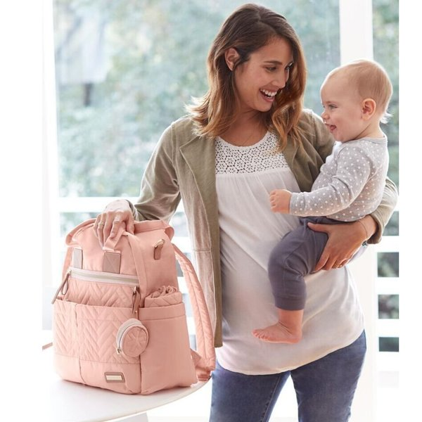 View larger image of Suite 6-in-1 Backpack Set - Blush