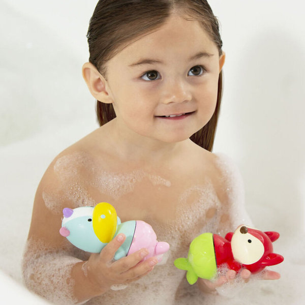 View larger image of Zoo Mix & Match Flippers Bath Toys