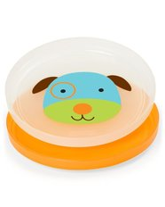 Zoo Smart Serve Non-Slip Plate Set - 2-Pk