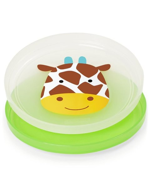 View larger image of Zoo Smart Serve Non-Slip Plate Set - 2-Pk