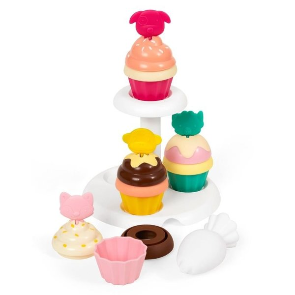 View larger image of Zoo Sort & Stack Cupcakes Set