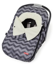 STROLL & GO Car Seat Cover - Tonal Chevron