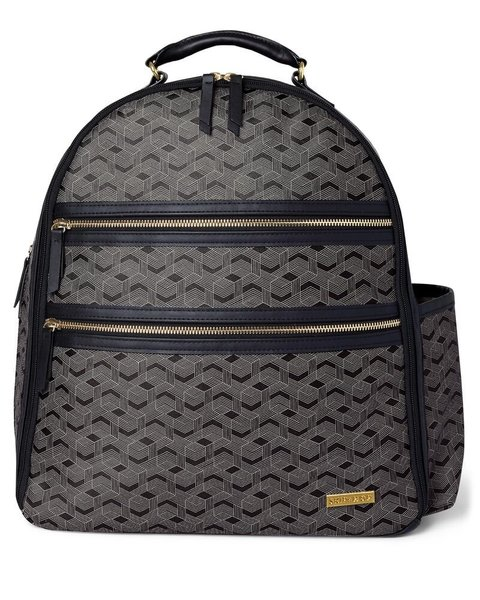 View larger image of Deco Saffiano Backpack - Lines