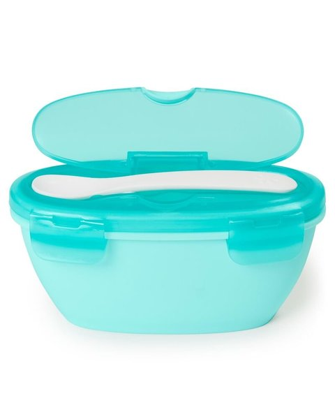 View larger image of Easy-Serve Travel Bowl & Spoon Set